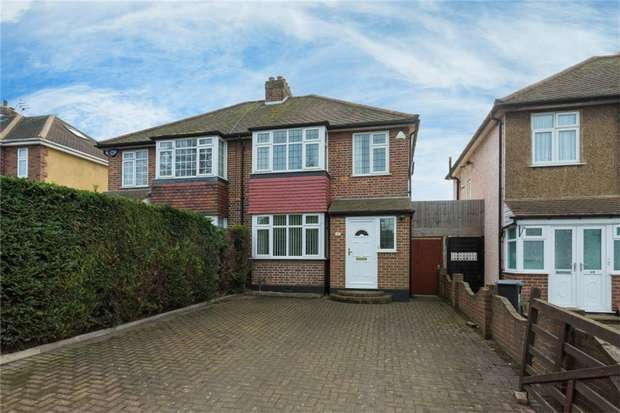 3 Bedrooms Semi Detached House for sale in 58 Langley Park Road, Iver, Buckinghamshire