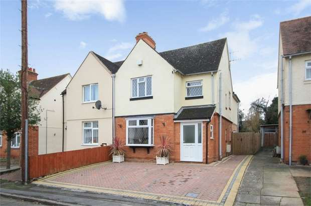 4 Bedrooms Semi Detached House for sale in Percy Street, Stratford-upon-Avon, Warwickshire