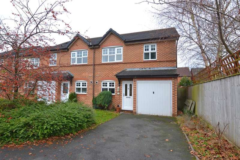 3 Bedrooms End Of Terrace House for sale in Ferry Farm Drive, Stafford