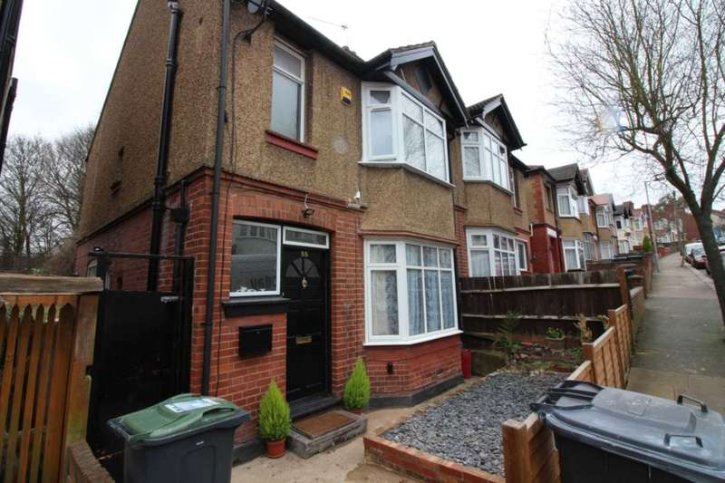 3 Bedrooms Semi Detached House for rent in Colin Road, Luton