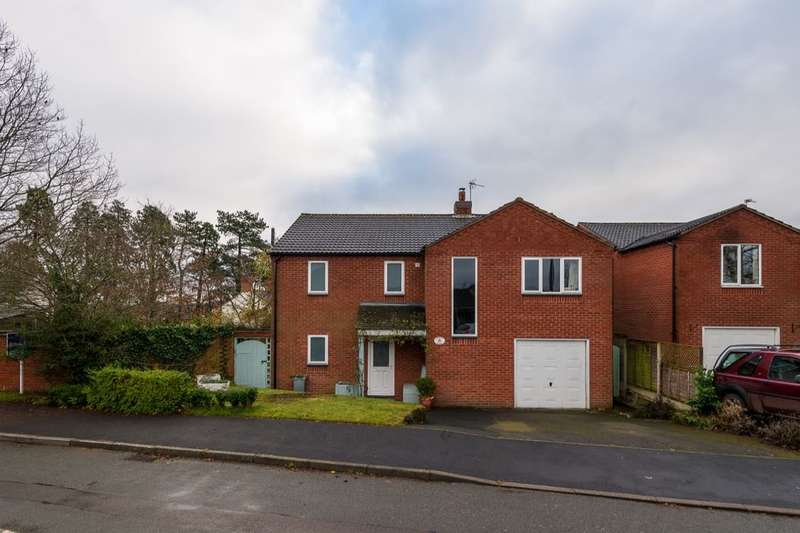 4 Bedrooms Detached House for sale in Griffin Close, Norton-In-Hales, TF9