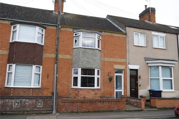 3 Bedrooms Terraced House for sale in Nelson Street, Market Harborough, Leicestershire