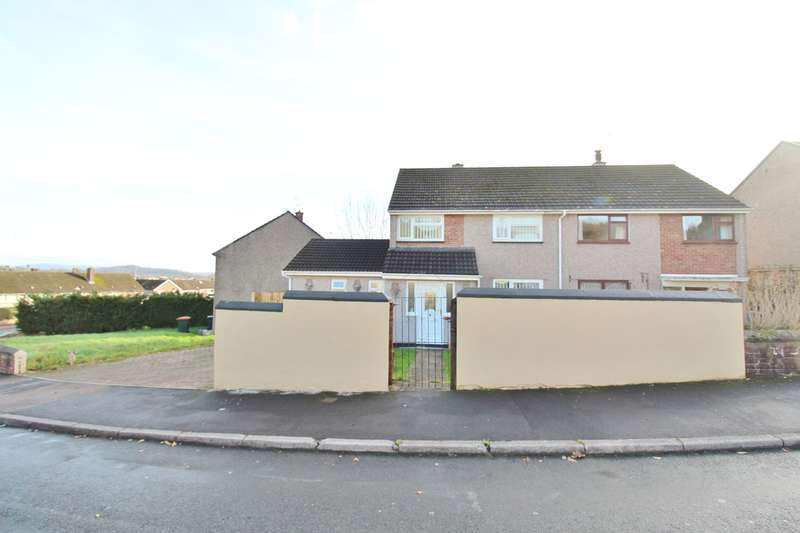 3 Bedrooms Semi Detached House for sale in Clist Road, Bettws, Newport, NP20