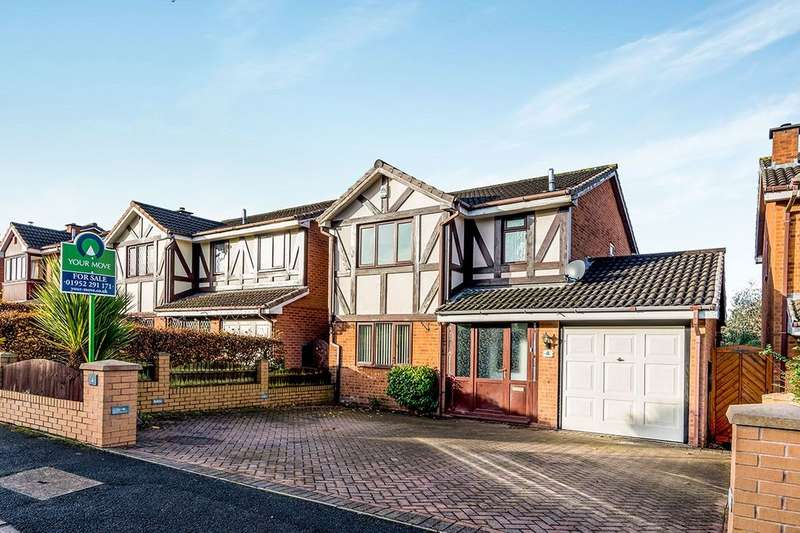 3 Bedrooms Detached House for sale in Hornet Way, The Rock, Telford, TF3