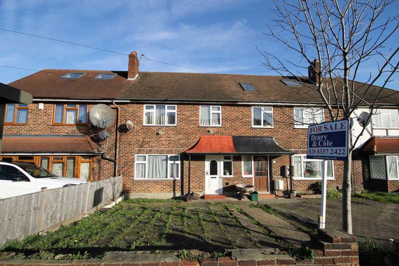 3 Bedrooms Terraced House for sale in Tudor Drive, Morden