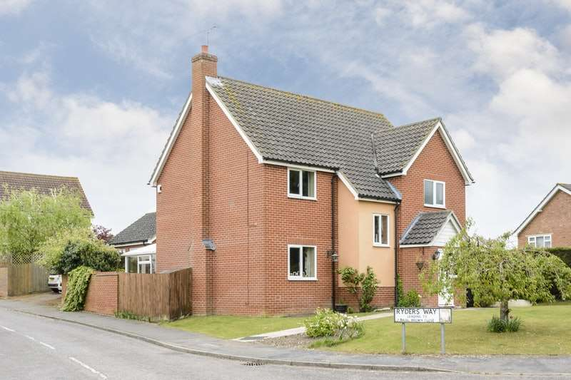 4 Bedrooms Detached House for sale in Ryder's way, Rickinghall, Norfolk, IP22