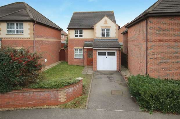 3 Bedrooms Detached House for sale in Asgard Drive, Bedford