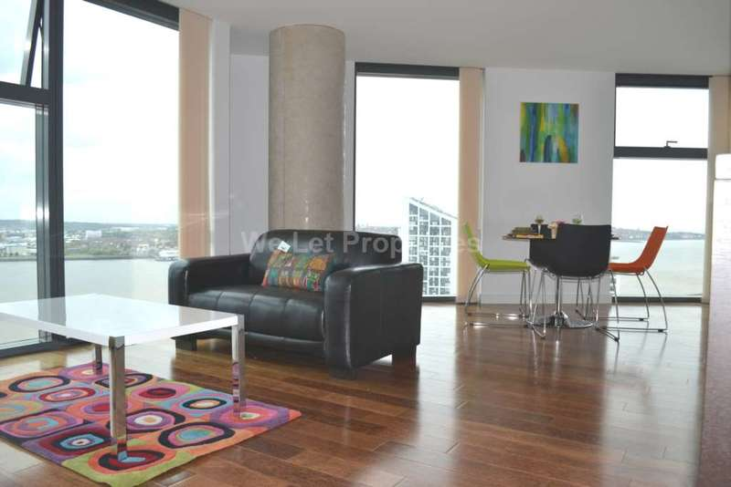 2 Bedrooms Apartment Flat for rent in West Tower, Liverpool