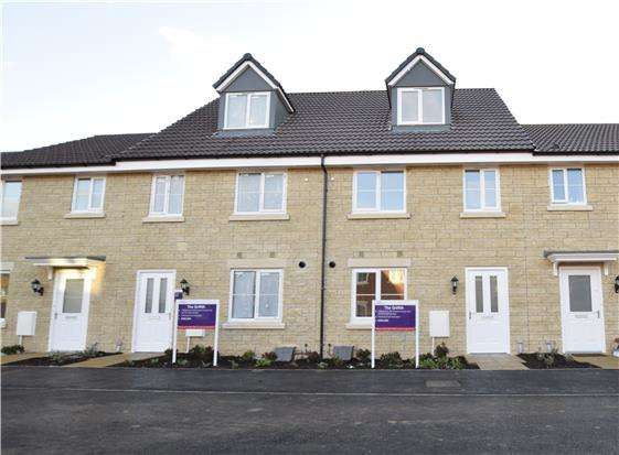3 Bedrooms Terraced House for sale in The Griffith, Abode, Bishops Cleeve, CHELTENHAM, GL52 8ER