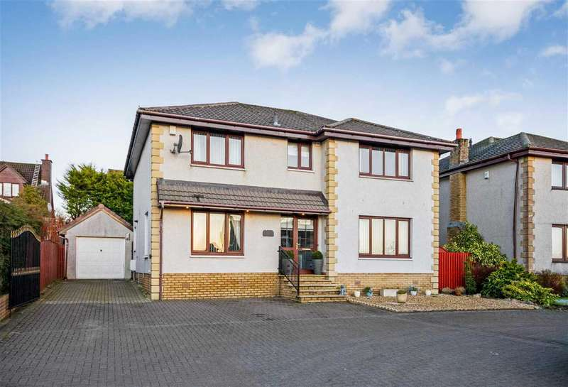 5 Bedrooms Detached House for sale in King's Well Gardens, Chapleton, CHAPELTON