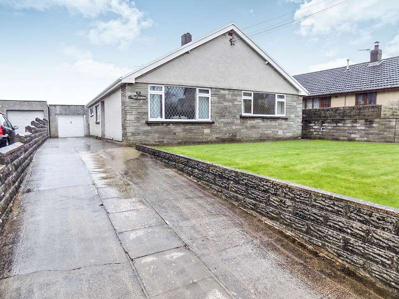 3 Bedrooms Bungalow for sale in Heol Yr Ysgol , Coity, Bridgend. CF35 6BL