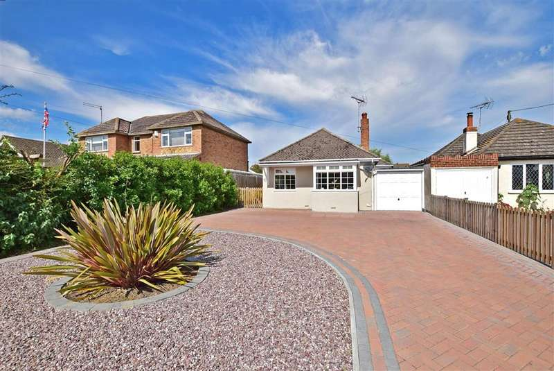 2 Bedrooms Detached Bungalow for sale in Chestfield Road, , Chestfield, Whitstable, Kent