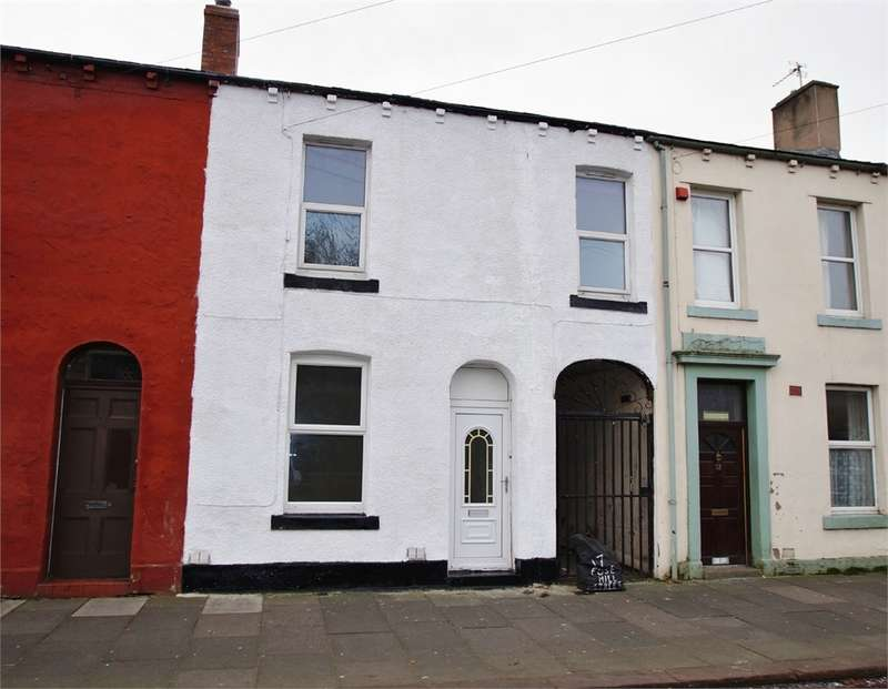 3 Bedrooms Terraced House for sale in CA1 2ES Fusehill Street, Carlisle, Cumbria