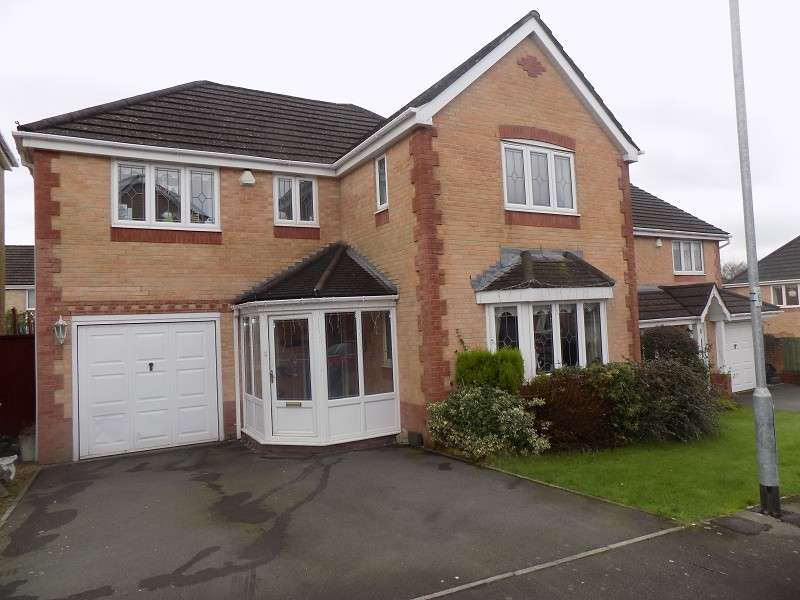 4 Bedrooms Detached House for sale in 4 Min Y Coed , Margam Village, Port Talbot, Neath Port Talbot. SA13 2TE