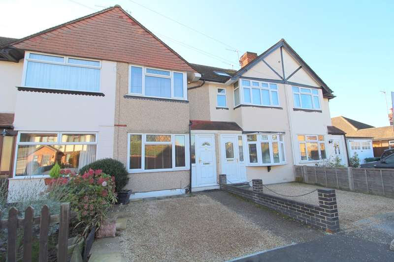 2 Bedrooms Terraced House for sale in Sydney Crescent, Ashford, TW15