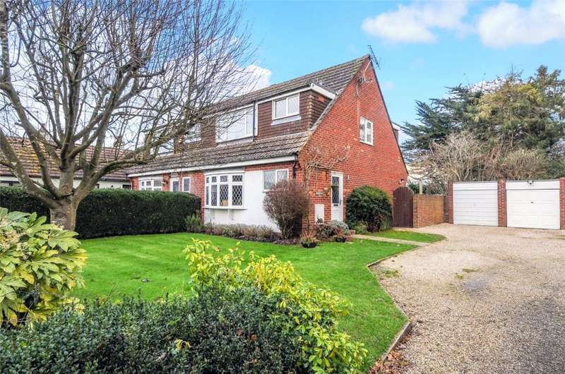 3 Bedrooms Semi Detached House for sale in Hook Lane, Aldingbourne, Chichester, PO20