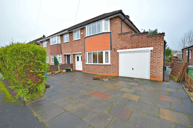 3 Bedrooms Semi Detached House for sale in West Downs Road, Cheadle Hulme