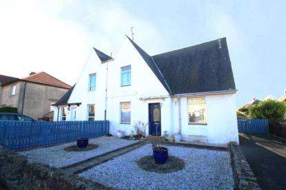 3 Bedrooms Semi Detached House for sale in Brown Avenue, Troon