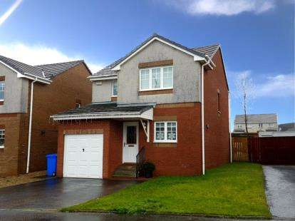 3 Bedrooms Detached House for sale in Dalwhinnie Crescent, Kilmarnock