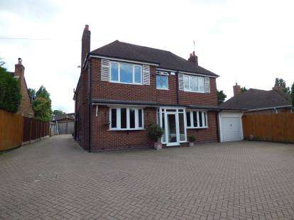 4 Bedrooms Detached House for sale in Stourbridge Road, Central Halesowen, Halesowen, West Midlands