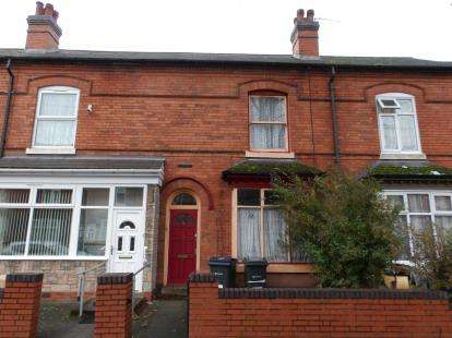 3 Bedrooms Terraced House for sale in Cannon Hill Road, Balsall Heath, Birmingham, West Midlands
