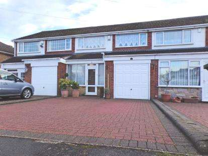 3 Bedrooms Terraced House for sale in Laurel Drive, Streetly, West Midlands
