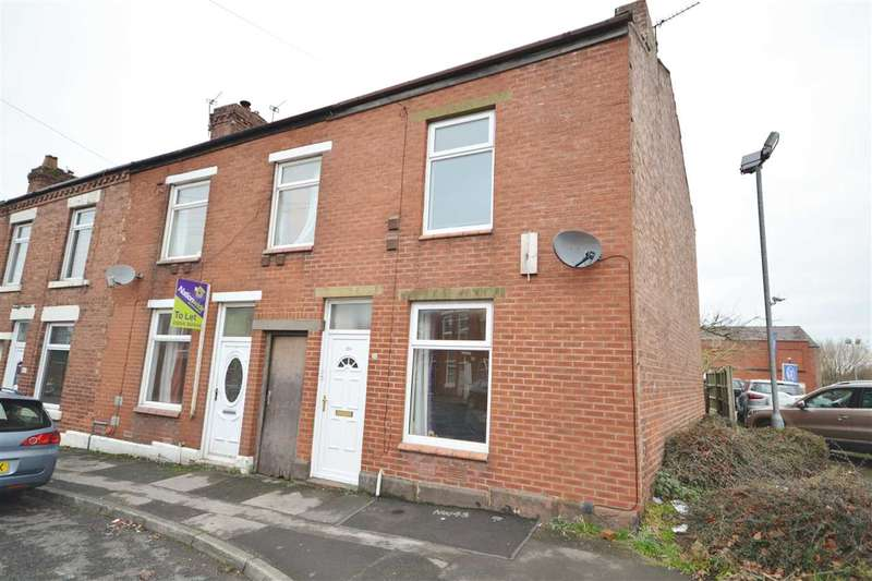 2 Bedrooms End Of Terrace House for sale in Burlington Street, Chorley