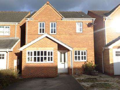 3 Bedrooms Detached House for sale in Bloomery Way, Clay Cross, Chesterfield, Derbyshire