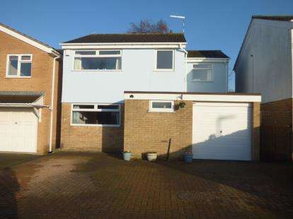 4 Bedrooms Detached House for sale in Crediton Close, Wigston, Leicestershire
