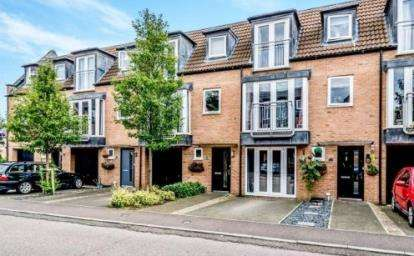 4 Bedrooms Terraced House for sale in Samuel Jones Crescent, Little Paxton, St. Neots, Cambridgeshire
