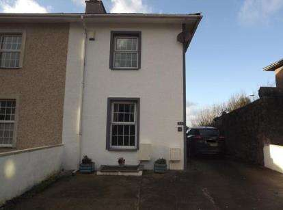 2 Bedrooms Semi Detached House for sale in Uxbridge Square, Caernarfon, Gwynedd, LL55