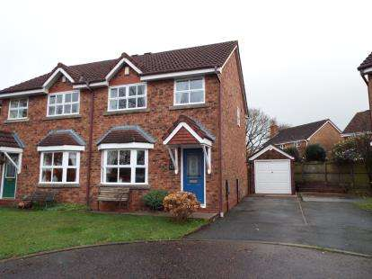 3 Bedrooms Semi Detached House for sale in Winter Hill Close, Grimsargh, Preston, Lancashire, PR2