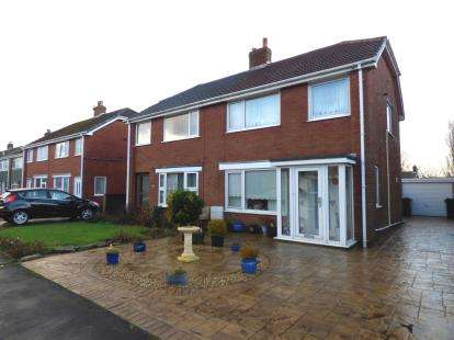 3 Bedrooms Semi Detached House for sale in Marsh View, Newton, Preston, Lancashire, PR4