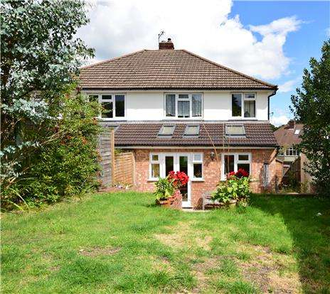 3 Bedrooms Semi Detached House for sale in Ravenswood Avenue, TN2 3SQ
