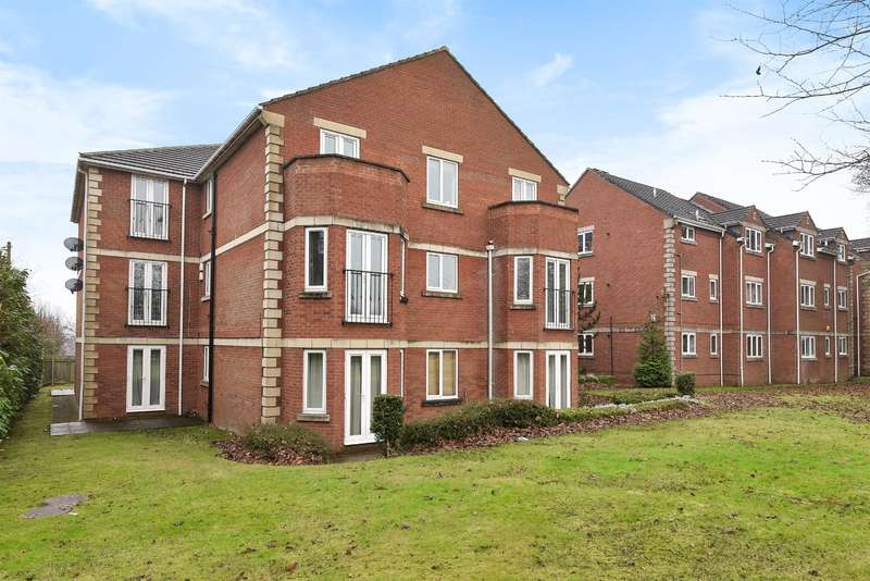 2 Bedrooms Flat for sale in The Gables, Highthorne Court, Shadwell, Leeds, LS17 8NW