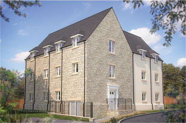 2 Bedrooms Flat for sale in High View, Hallatrow Road, Paulton, BRISTOL, BS39 7LJ