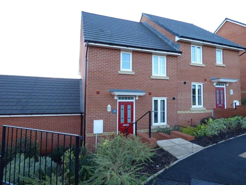 3 Bedrooms Semi Detached House for sale in Clover Drive, Dawlish