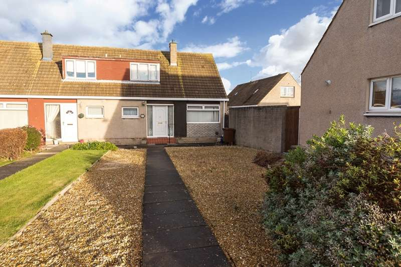 2 Bedrooms Semi-detached Villa House for sale in Mayfield Crescent, Musselburgh, East Lothian, EH21 6EZ