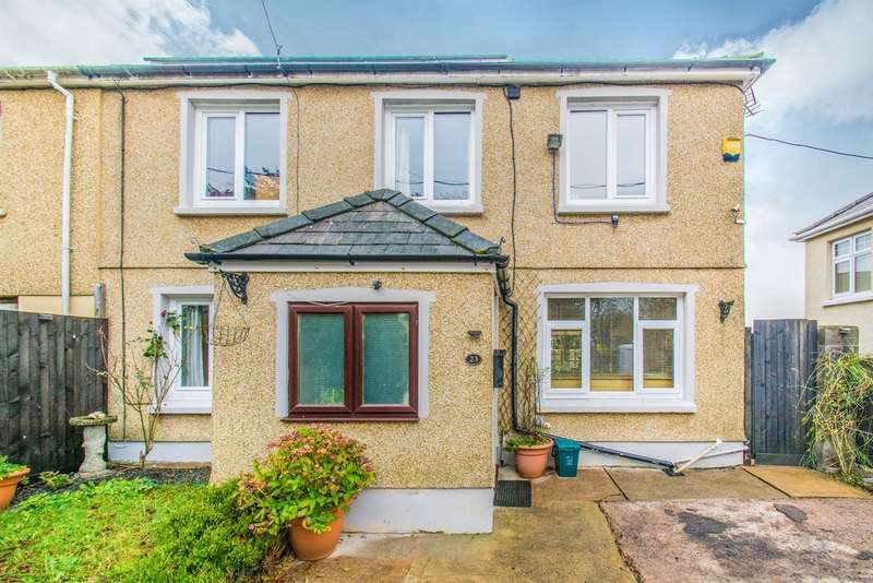 3 Bedrooms Semi Detached House for sale in Commin Road, Aberbargoed, Bargoed