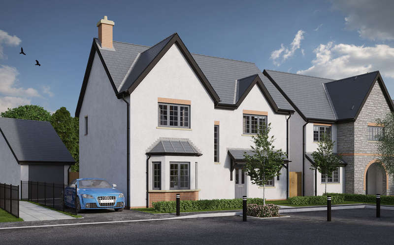 4 Bedrooms Detached House for sale in St Nicholas, St. Nicholas, Cardiff