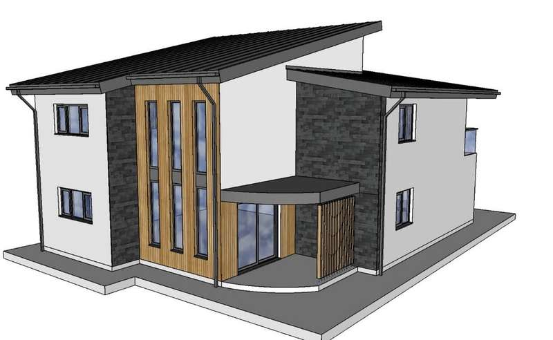 5 Bedrooms Detached House for sale in Coed Glas, Hendy, Swansea