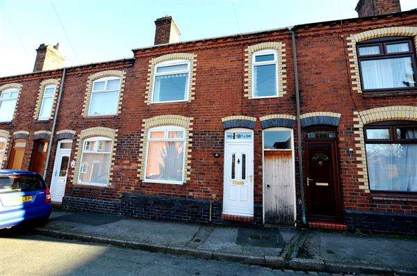 3 Bedrooms Terraced House for sale in Kinsey Street, Silverdale, Newcastle