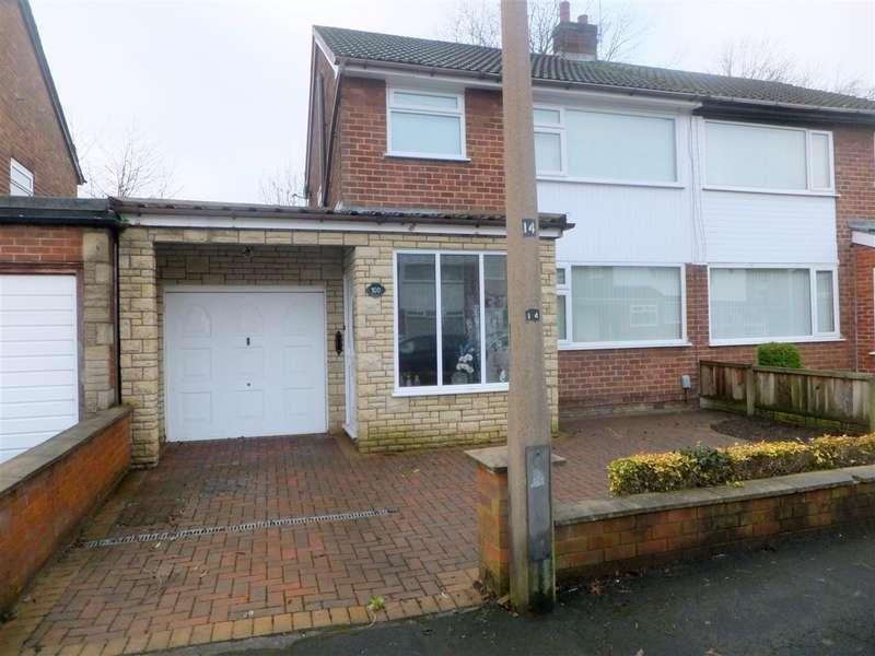 3 Bedrooms Semi Detached House for sale in Mossdale Drive, Rainhill, Prescot