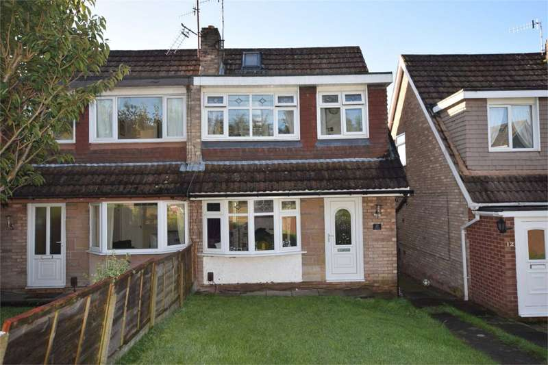 3 Bedrooms Semi Detached House for sale in Pleasington Close, Prenton