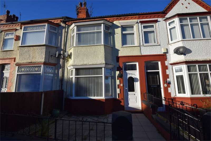 3 Bedrooms Terraced House for sale in Gorsefield Road, Prenton