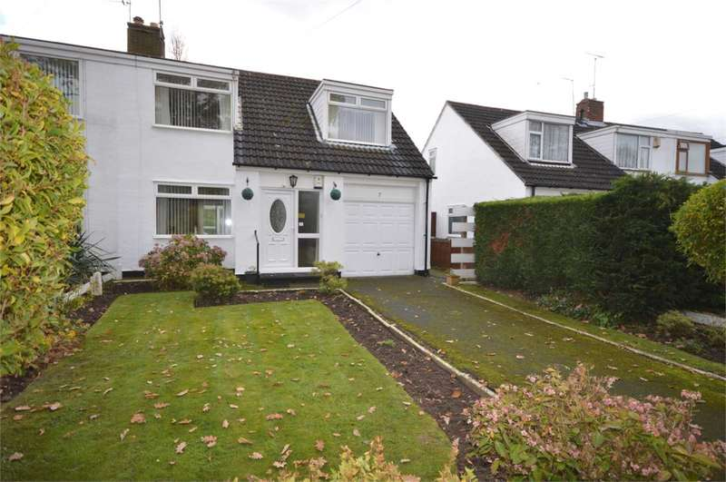 3 Bedrooms Semi Detached House for sale in Tavener Close, Bromborough