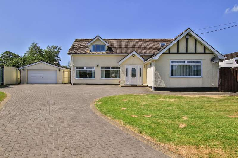 4 Bedrooms Detached House for sale in Drope Road, St. George's-Super-Ely, CARDIFF