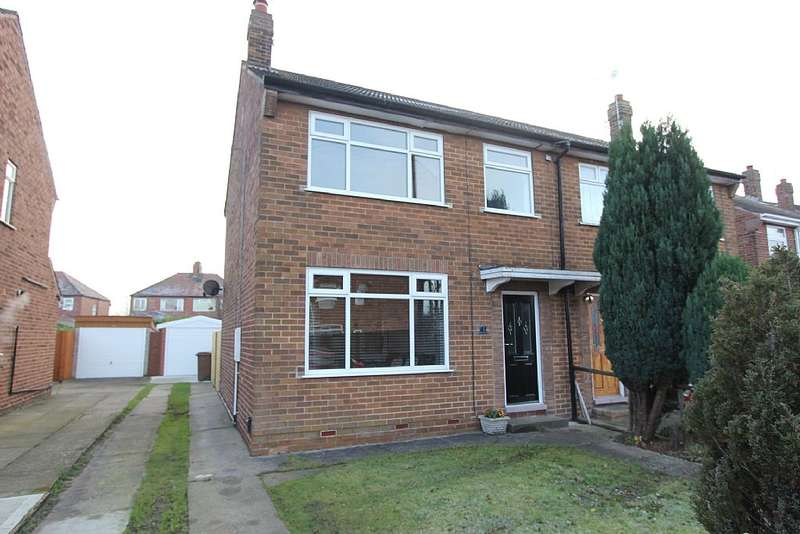 3 Bedrooms Semi Detached House for sale in Sherwood Drive, Hull, East Yorkshire, HU4 7RG