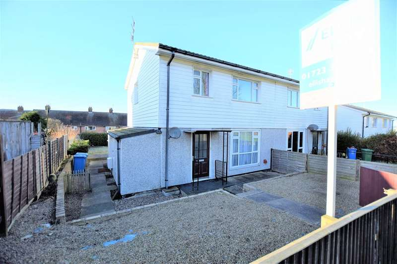 3 Bedrooms Semi Detached House for sale in Gildercliffe, Scarborough