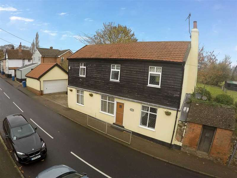 3 Bedrooms Cottage House for sale in Lower Street, Sproughton, Ipswich, Suffolk, IP8 3AA